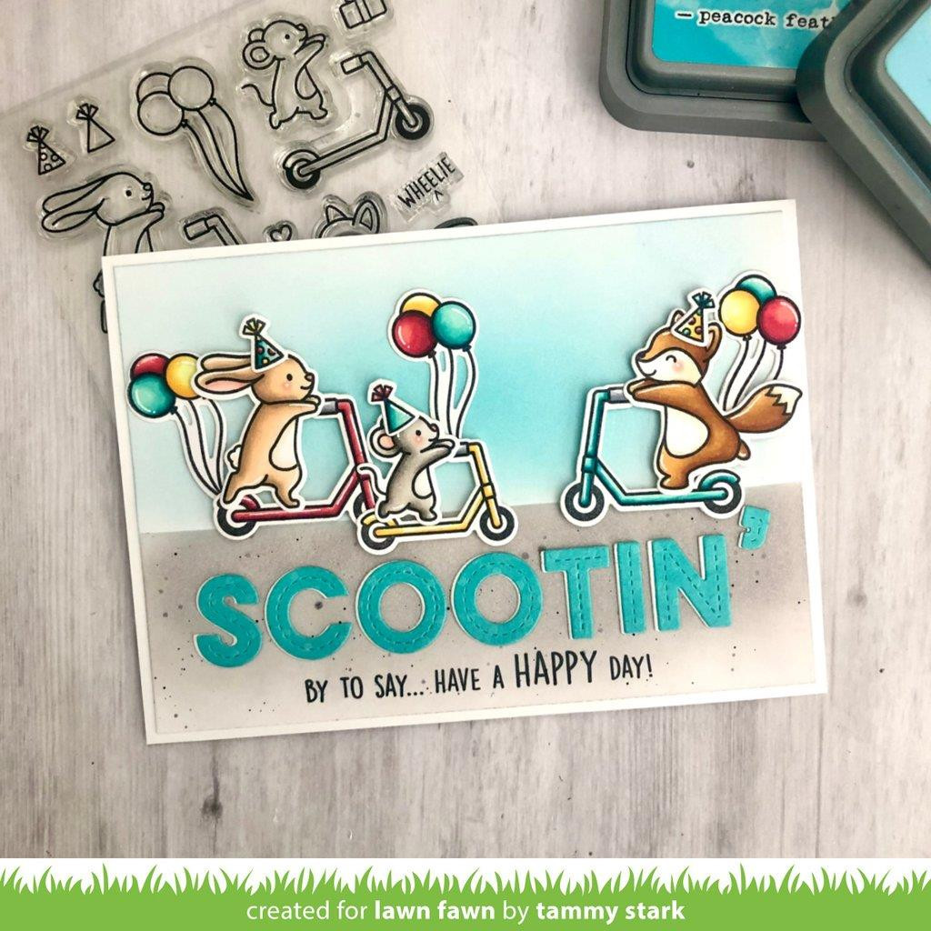Scootin' By, Lawn Cuts Dies -