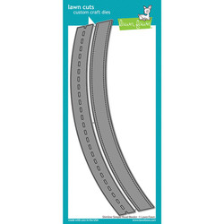 Slimline Simple Road Border, Lawn Cuts Dies -
