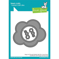 Magic Iris Thought Bubble Add-On, Lawn Cuts Dies -