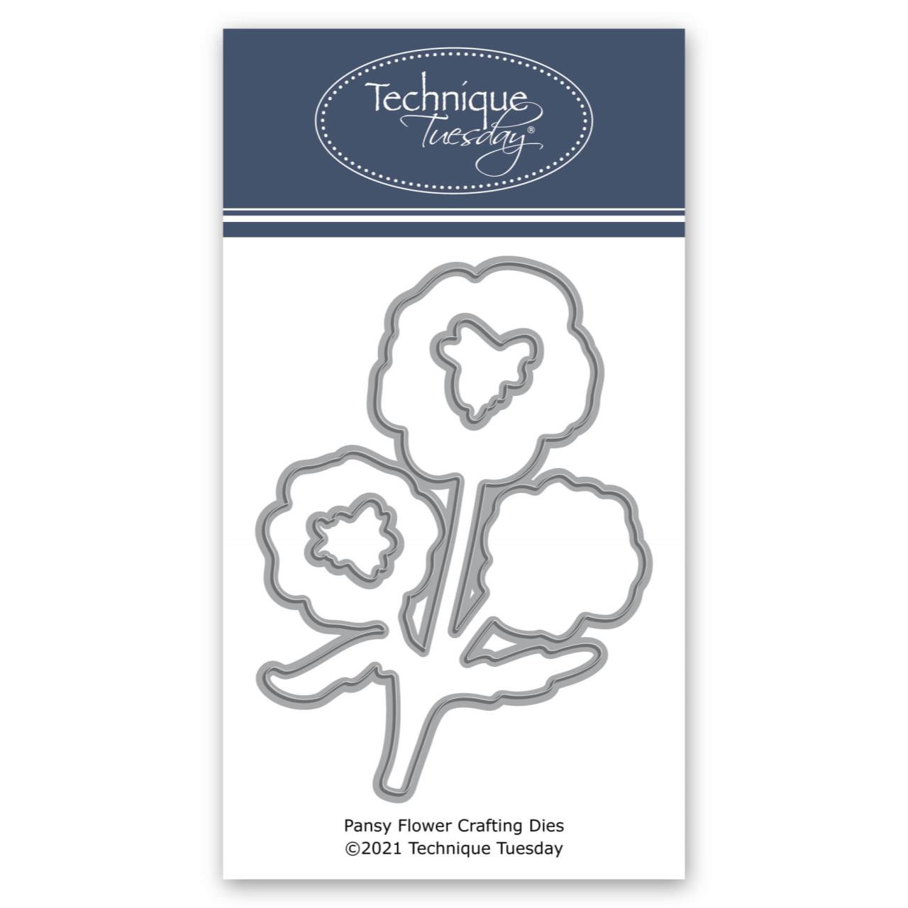 Pansy Flower, Technique Tuesday Dies -