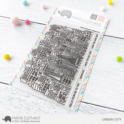 Urban City, Mama Elephant Clear Stamps -