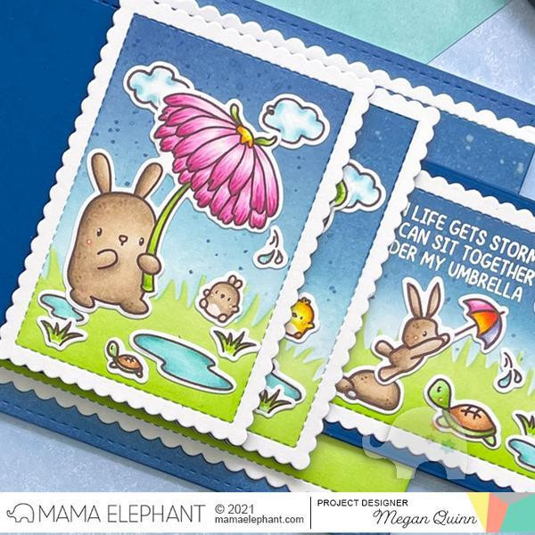 Flower Shower, Mama Elephant Clear Stamps -