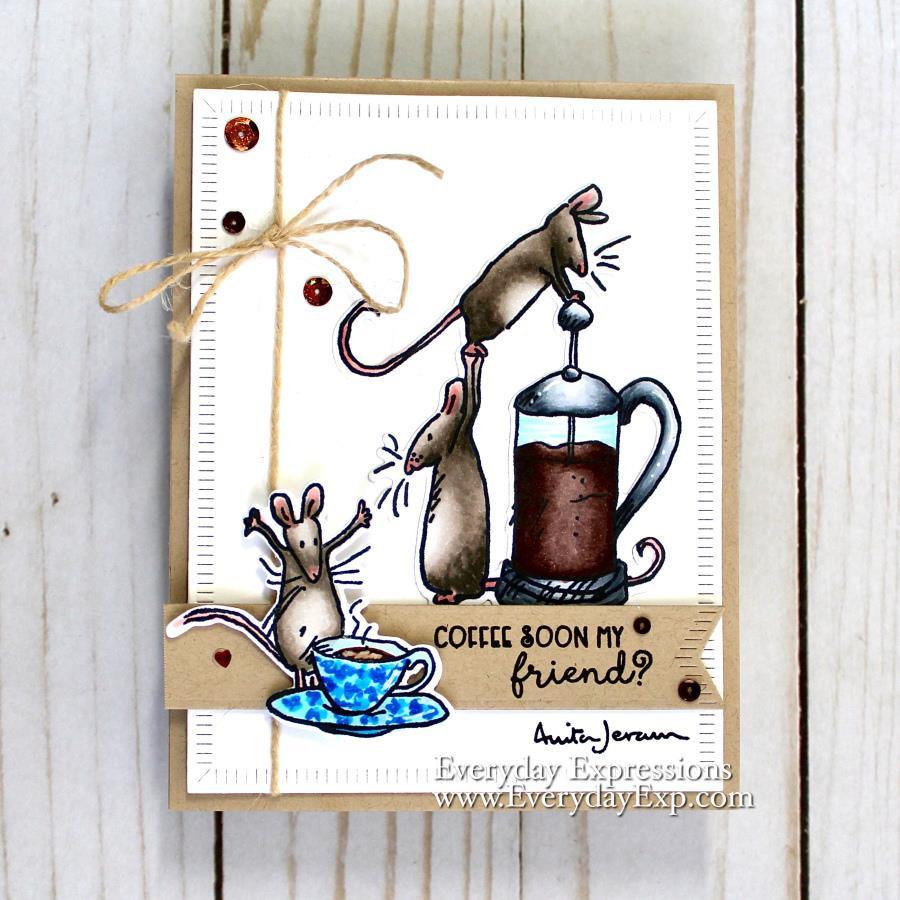 Coffee House by Anita Jeram, Colorado Craft Company Dies -