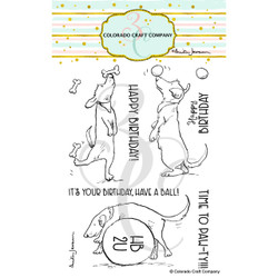 Watch This! by Anita Jeram, Colorado Craft Company Clear Stamps -