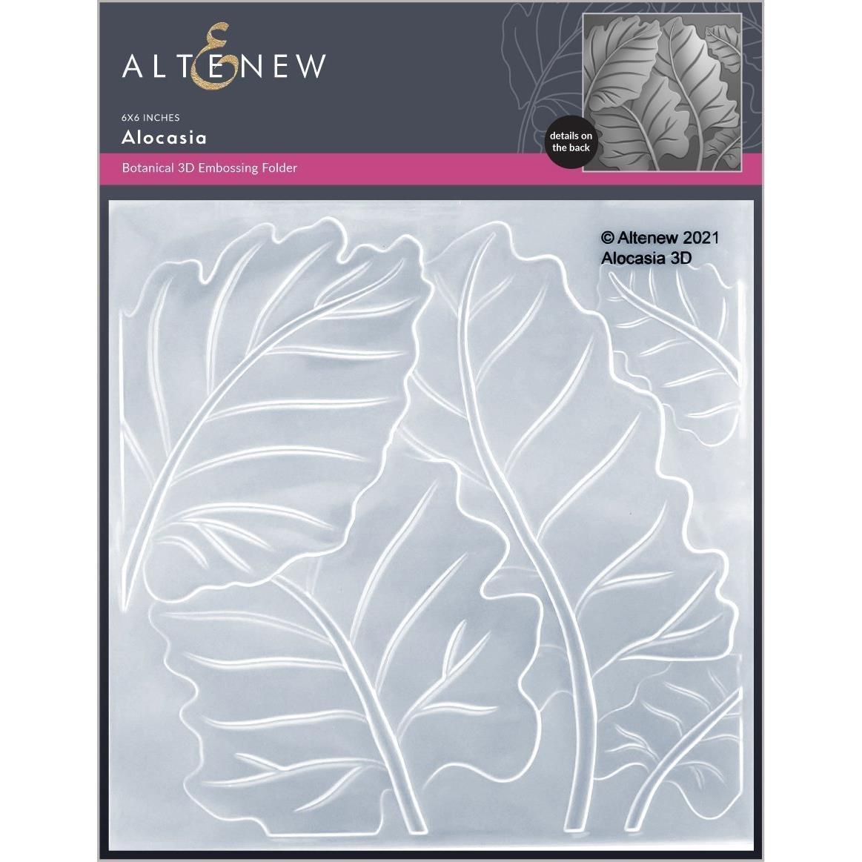 Alocasia 3D, Altenew Embossing Folders -