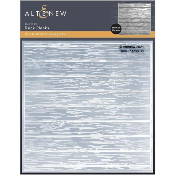 Deck Planks 3D, Altenew Embossing Folders -