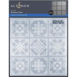 Dreamy Tiles 3D, Altenew Embossing Folders -