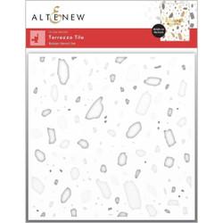 Terrazzo Tile, Altenew Stencils -