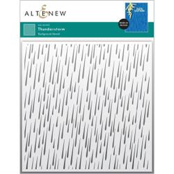 Thunderstorm, Altenew Stencils -