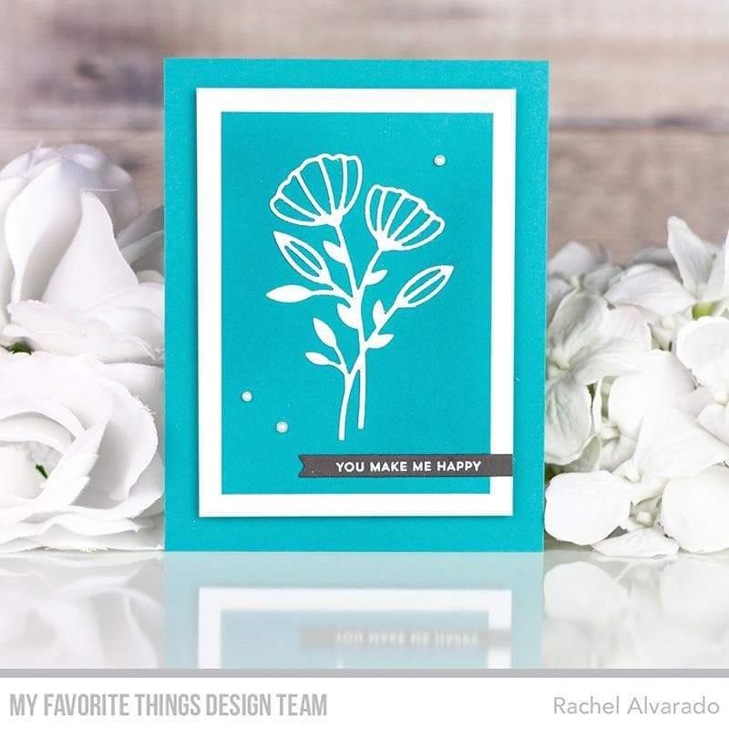 Itty Bitty Basics, My Favorite Things Clear Stamps -