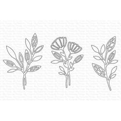 In-Focus Florals, My Favorite Things Die-Namics -