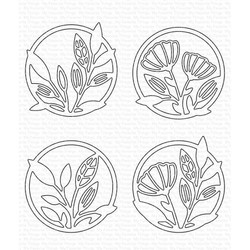 In-Focus Floral Frames, My Favorite Things Die-Namics -