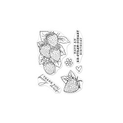 Hero Florals Strawberries, Hero Arts Clear Stamps -