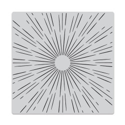 Sun Ray Bold Prints, Hero Arts Cling Stamps -