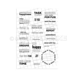 My Happy Place, Alexandra Renke Clear Stamps -