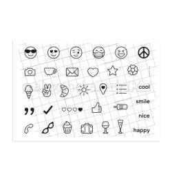Emojis, Alexandra Renke Clear Stamps -