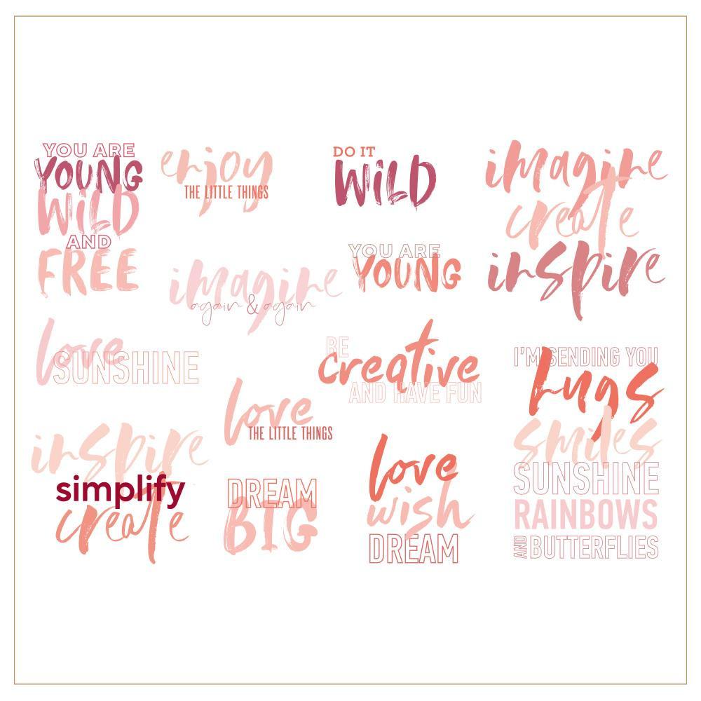 Imagine, Alexandra Renke Clear Stamps -