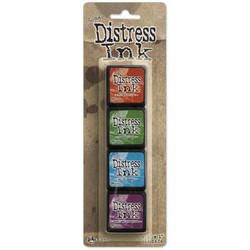 Mini Distress Pad Kit 2, Ranger Distress Mini Ink Pad -