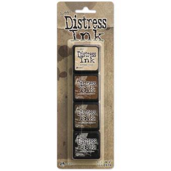 Mini Distress Pad Kit 3, Ranger Distress Mini Ink Pad -