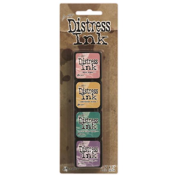 Mini Distress Pad Kit 4, Ranger Distress Mini Ink Pad -