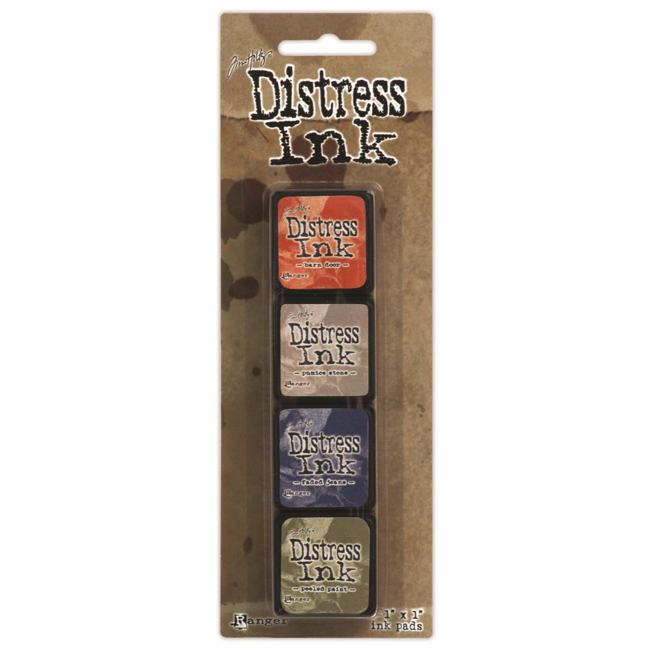 Mini Distress Pad Kit 5, Ranger Distress Mini Ink Pad -