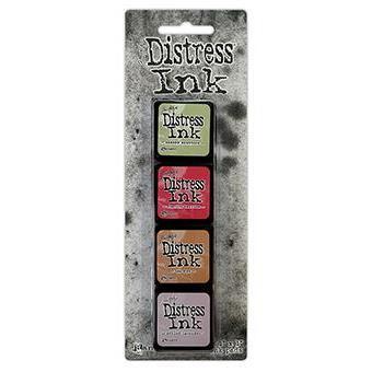 Mini Distress Pad Kit 11, Ranger Distress Mini Ink Pad -