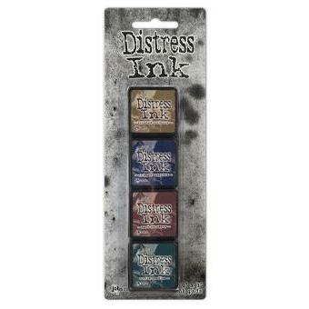 Mini Distress Pad Kit 12, Ranger Distress Mini Ink Pad -