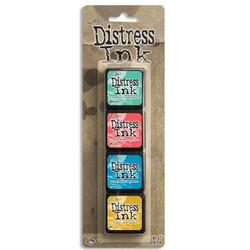 Mini Distress Pad Kit 13, Ranger Distress Mini Ink Pad -