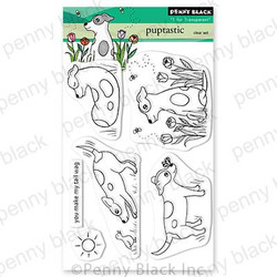 Puptastic, Penny Black Clear Stamps -