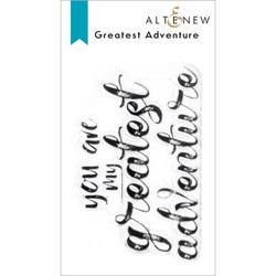 Greatest Adventure, Altenew Clear Stamps -