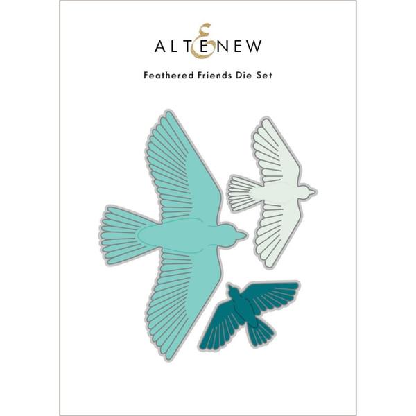 Feathered Friends, Altenew Dies -
