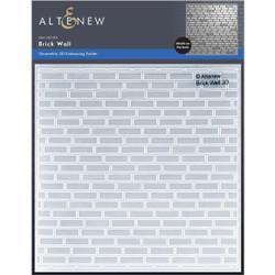 Brick Wall 3D, Altenew Embossing Folder -