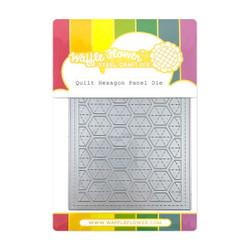 Quilt Hexagon Panel, Waffle Flower Dies -