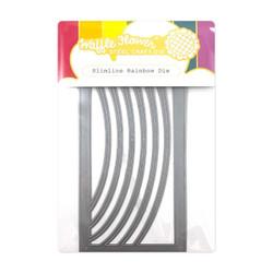 Slimline Rainbow, Waffle Flower Dies -
