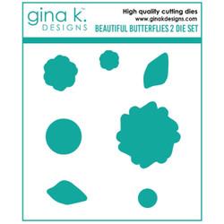 Beautiful Butterflies 2, Gina K Designs Dies -