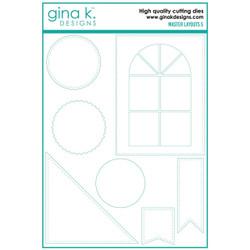 Master Layouts 5, Gina K Designs Dies -