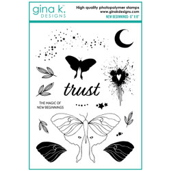 New Beginnings, Gina K Designs Clear Stamps -