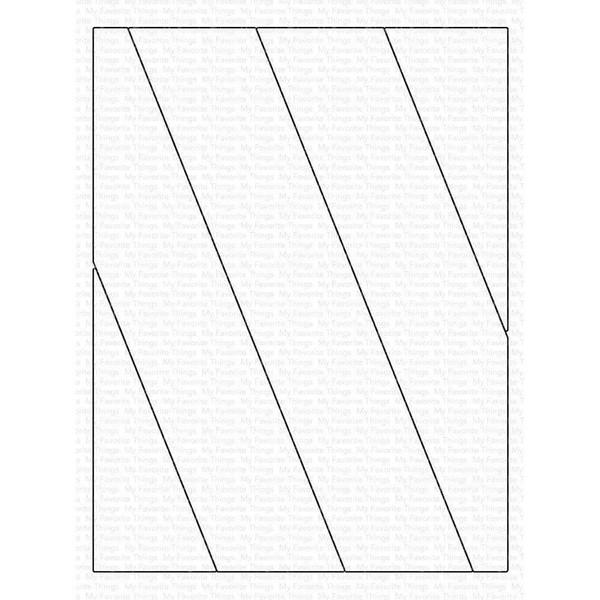 Slanted Stripes Cover-Up, My Favorite Things Die-Namics -