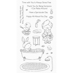 Spa Day by Stacey Yacula, My Favorite Things Clear Stamps -