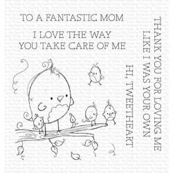 Tweetheart by Rachelle Anne Miller, My Favorite Things Clear Stamps -