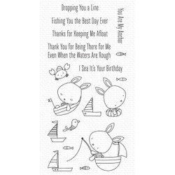 You Keep Me Afloat, My Favorite Things Clear Stamps -