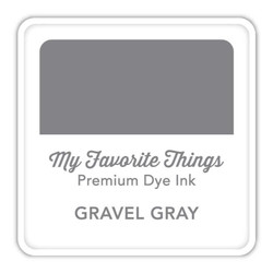 Gravel Gray, My Favorite Things Premium Dye Ink Cube -