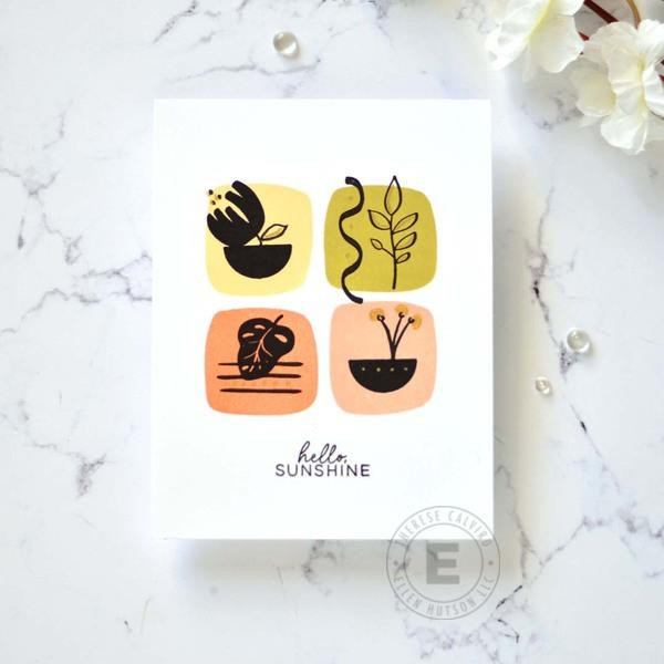 Good Day by Julie Ebersole, Essentials by Ellen Clear Stamps -