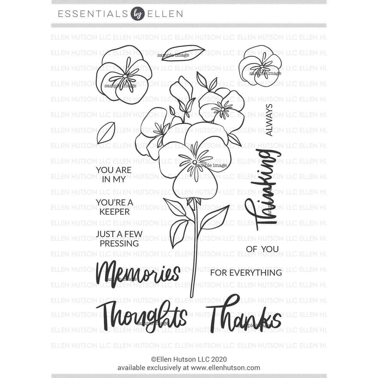 Pressing Thoughts by Brandi Kincaid, Essentials by Ellen Clear Stamps -