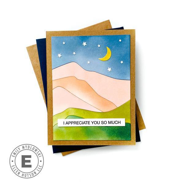Abstract Mountain, Essentials by Ellen Designer Dies -