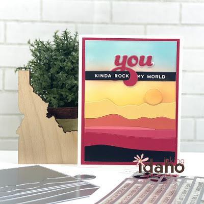 Abstract Sunset, Essentials by Ellen Designer Dies -