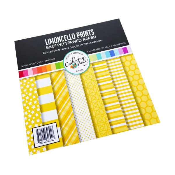 Limoncello, Catherine Pooler Patterned Paper -