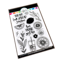 Your Zest Life, Catherine Pooler Clear Stamps -