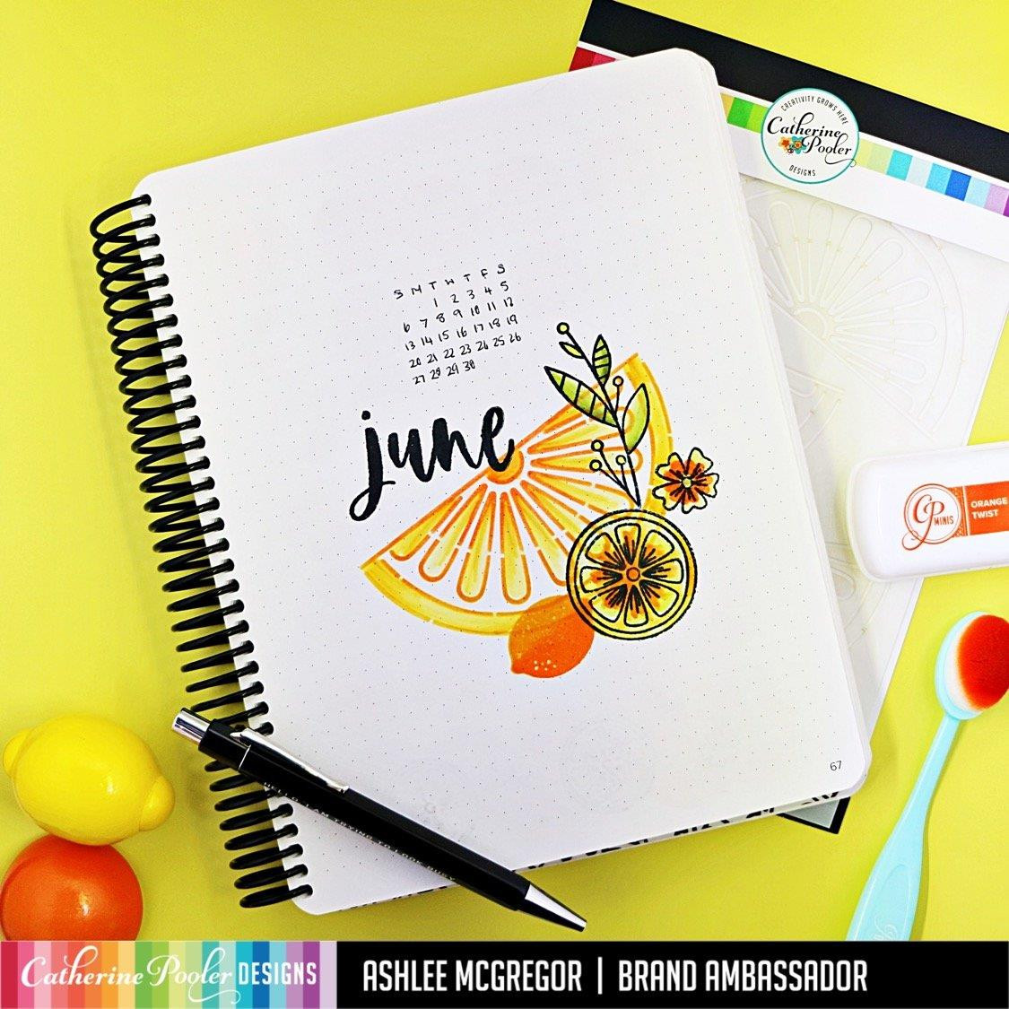 Just a Squeeze, Catherine Pooler Stencils -