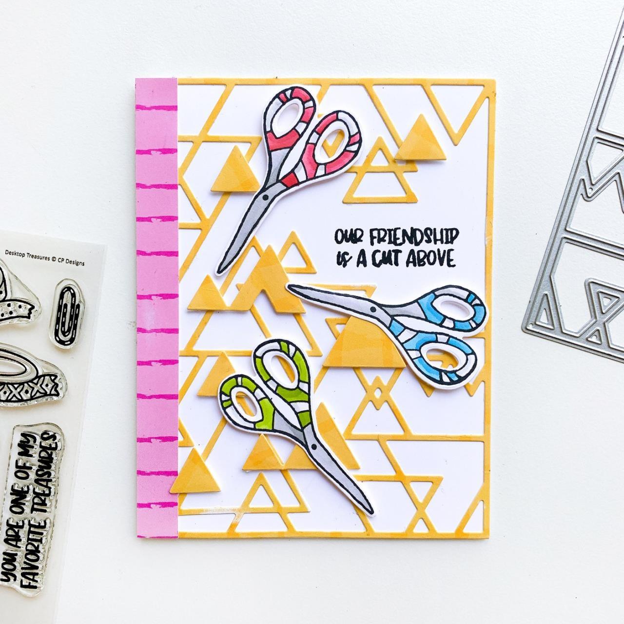 Desktop Treasures, Catherine Pooler Clear Stamps -